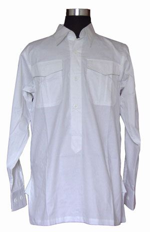WW2 German white officers shirt