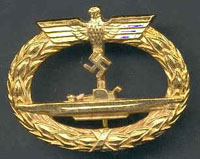 Kriegsmarine Navy Warfare Badge