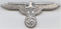 SS Officer Visor Cap Eagle (late version)