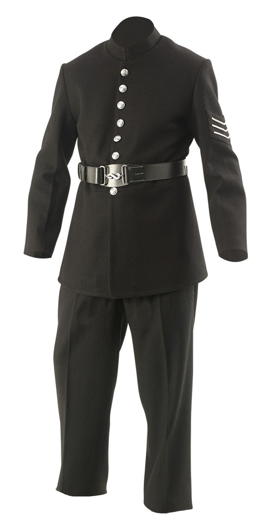 Victorian Police uniform British