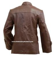 WW2 German Leather U Boat crew leather jacket BROWN
