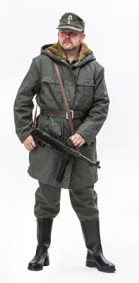 WW2 German Fur Lined Parka