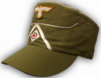 Afrika Korps cap - with insignia