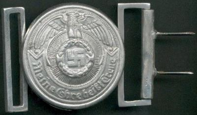 SS Officers Belt Buckle