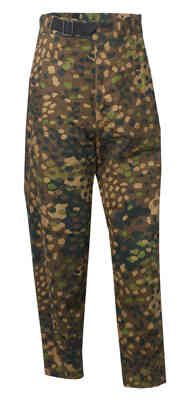 m43 pea dot trousers