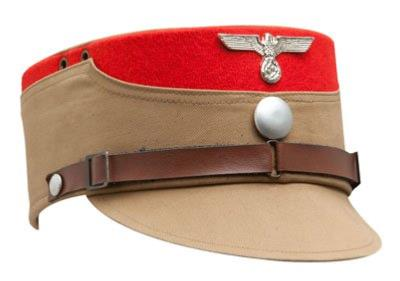 WW2 Geman SA Kepi - red trim