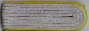 Heer German Army WW2 shoulder boards - Recon - officer lower ranks