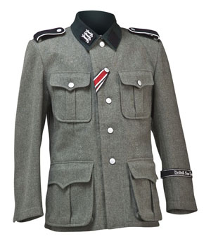WW2 German tunic - M36 enlisted man - field grey