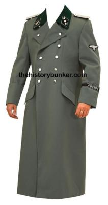 WW2 German M36 TRICOT overcoat with insignia