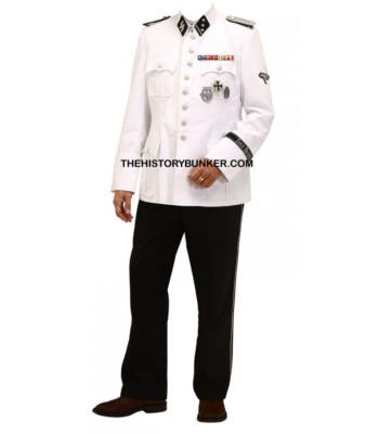 WW2 German SS m36 white cotton dress uniform