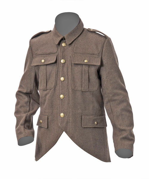 WW1 British Soldiers Scottish cut away tunic