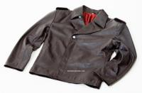 WW2 German Leather U Boat Kriegsmarine jacket BROWN - Panzer wrap style - WW2 German leather coats