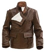 World War one British RFC leather coat - short version