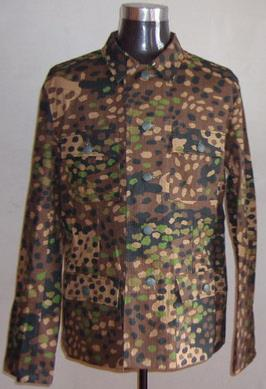 M43 pea dot tunic