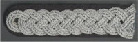 SS Allgemeine Oberfuhrer through to Obergruppenfuhrer Shoulder Board