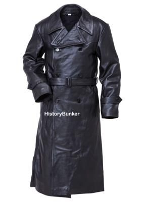 WW2 German Gestapo Leather trench coat