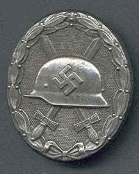 Wound Badge - silver