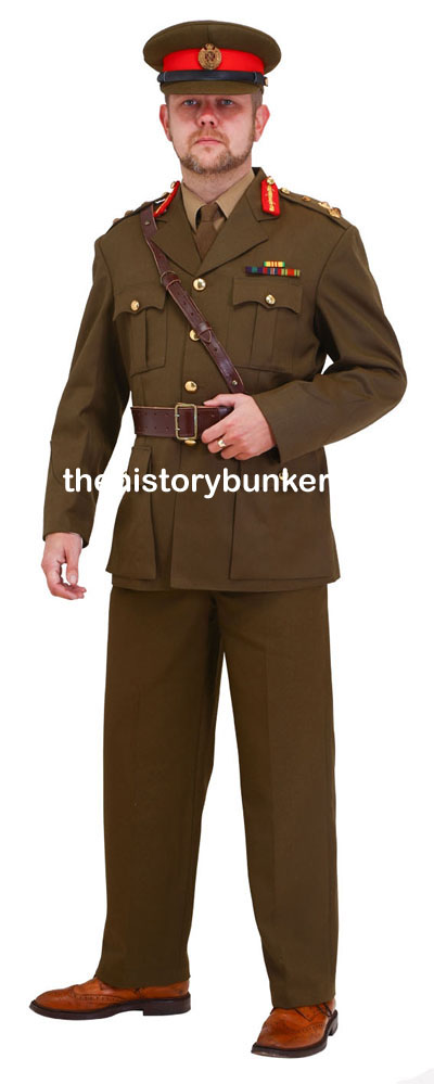 WW2 BRITISH Staff officer service dress uniform