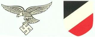 LUFTWAFFE- HELMET DECALS LATE VERSION
