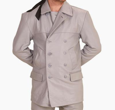 uboat Kriegsmarine Grey leather deck jacket